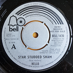 Star Studded Sham/Jenny Dream Demo
