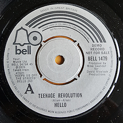 Teenage Revolution/Keeps Us Off The Streets
