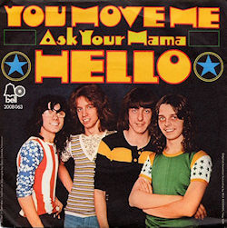 Hello You Move Me/Ask Your Mama Germany